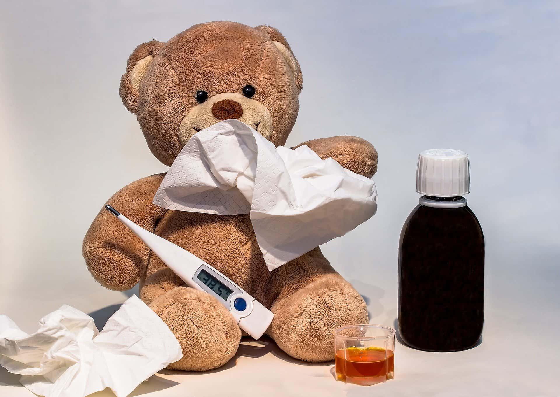 Febra la copii: cauze și tratament